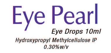Eye pearl eye drops