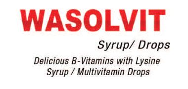 Wasolvit Syrup/Drops