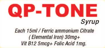 QPTONE SYP 200ML