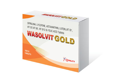 Wasolvit Gold Tablet