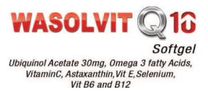 Wasolvit Q 10 softgel