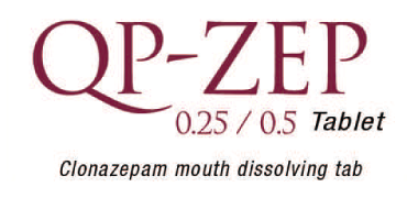 QP-ZEP 0.25/0.5 tablet